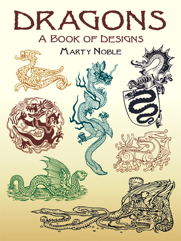 Dragons, A Book of Designs