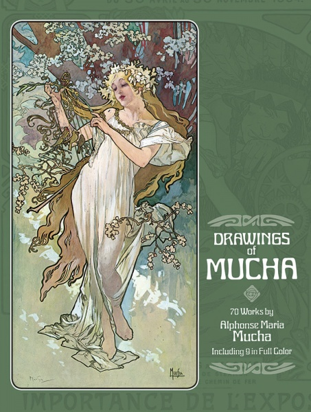Drawings of Mucha - Seventy Works