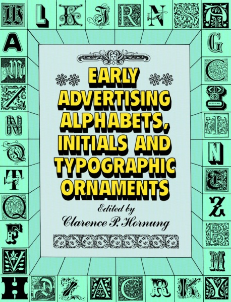 Early Advertising Alphabets