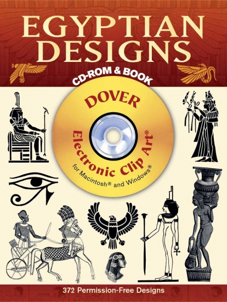 Egyptian Designs CD-ROM and Book