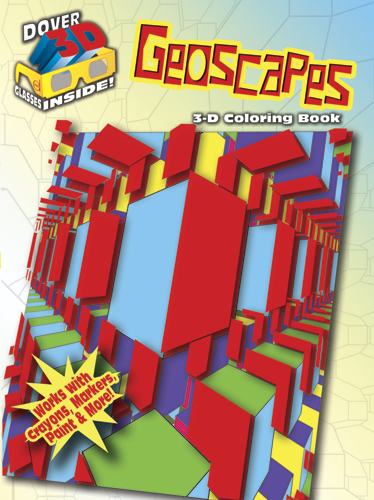 3-D Coloring Book - Geoscapes