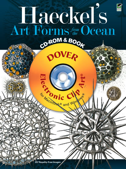 Haeckels Art Forms from the Ocean CD-ROM and Book