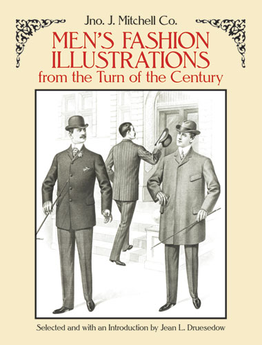 Mens Fashion Illustrations from the Turn of the Century