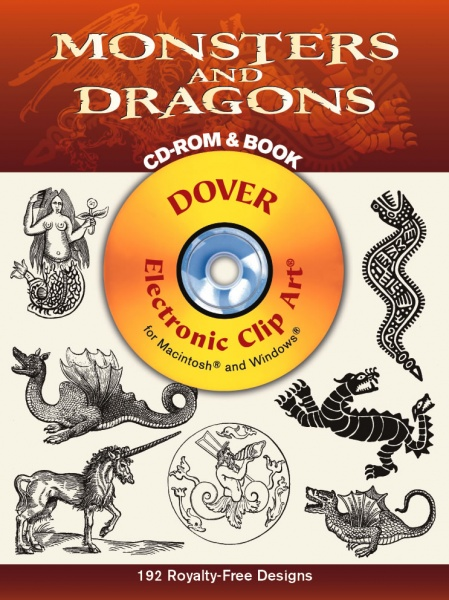 Monsters and Dragons CD-ROM and Book