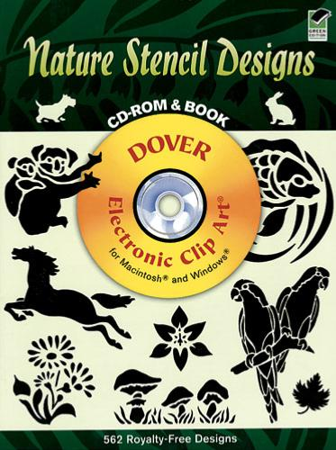 Nature Stencil Designs CD-Rom and Book