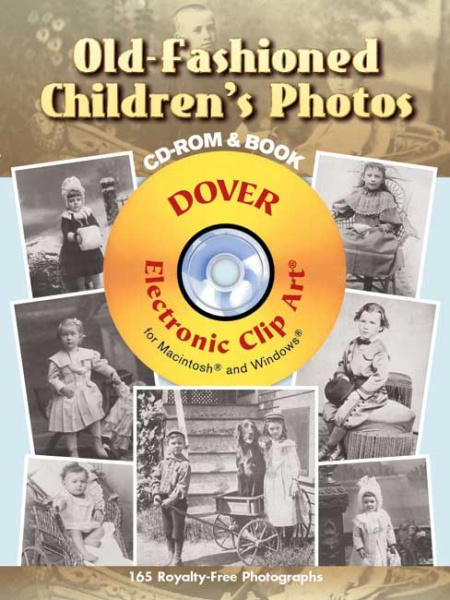 Old-Fashioned Childrens Photos CD-ROM and Book