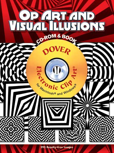 Op Art and Visual Illusions CD-ROM and Book