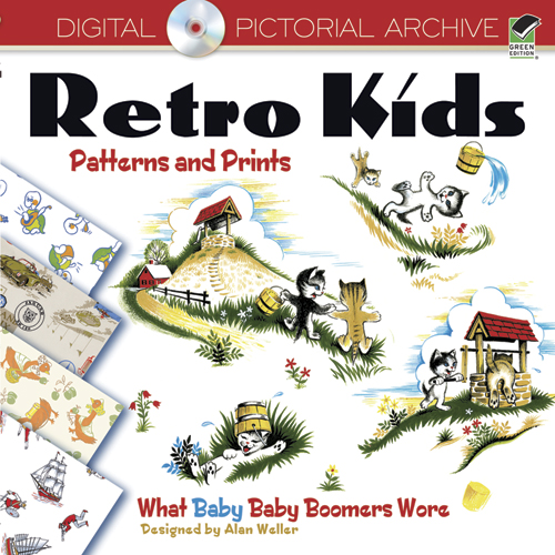 Retro Kids Patterns and Prints: What Baby Baby Boomers Wore