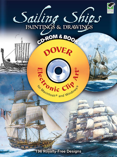 Sailing Ships Paintings and Drawings CD-ROM and Book