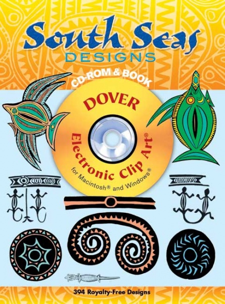 South Seas Designs CD-ROM and Book