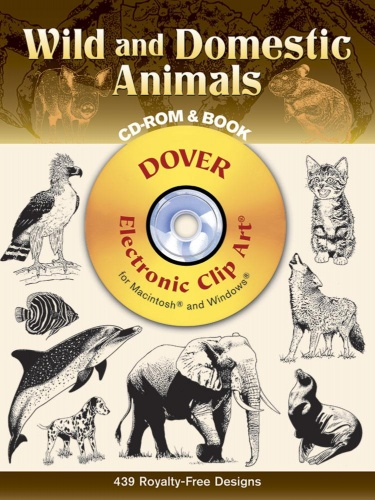 Wild And Domestic Animals Cd Rom And Book