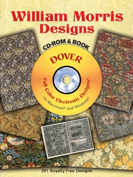 William Morris Designs CD-ROM and Book