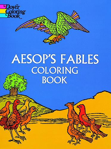 Aesops Fables Coloring Book