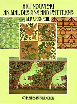 Art Nouveau Animal Designs and Patterns - 60 Plates in Full Color