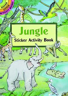 Jungle Sticker Activity Book