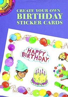 Create Your Own Birthday Sticker Cards