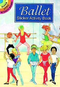 Ballet Sticker Activity Book
