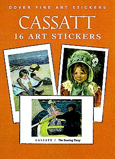 Cassatt: 16 Art Stickers