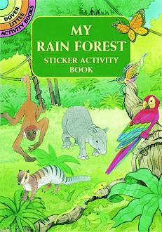 My Rain Forest Sticker Activity Book