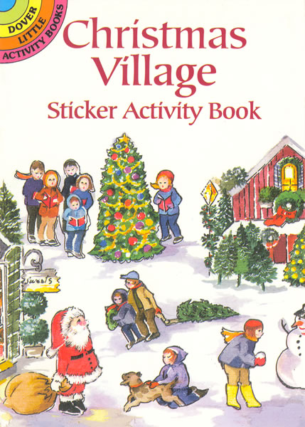 Christmas Village Sticker Activity Book