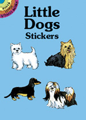 Little Dogs Stickers