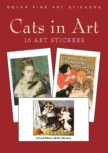 Cats in Art: 16 Stickers