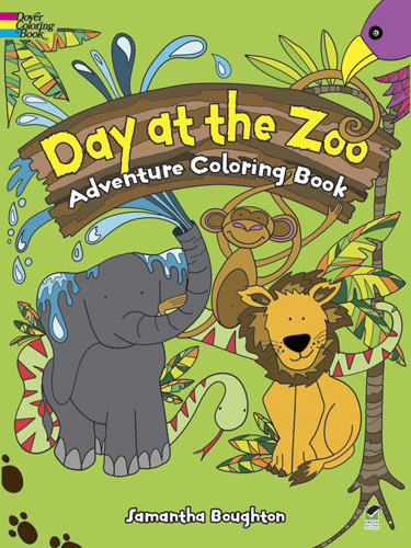 Day at the Zoo Adventure Coloring Book