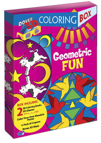 Geometric Fun 3-D Coloring Box