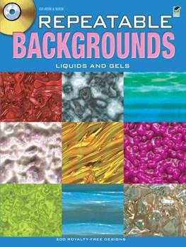 Repeatable Backgrounds--Liquids and Gels CD-ROM and Book