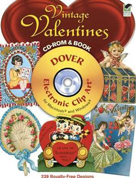 Vintage Valentines CD-ROM and Book