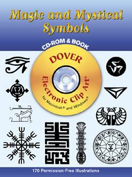 Magic and Mystical Symbols CD-ROM and Book
