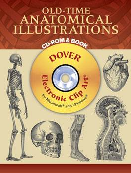 Old-Time Anatomical Illustrations CD-ROM and Book