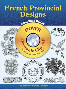 French Provincial Designs CD-ROM and Book