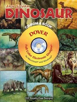 Dinosaur CD-ROM and Book