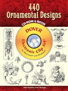 440 Ornamental Designs CD ROM and Book