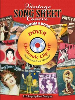 Vintage Song Sheet Covers CD ROM and Book