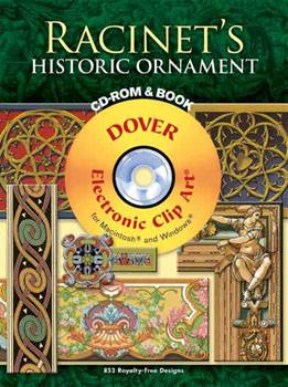 Racinets Historic Ornament CD-ROM and Book