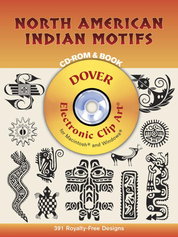 North American Indian Motifs CD ROM and Book