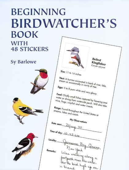 Beginning Birdwatchers Book: With 48 Stickers