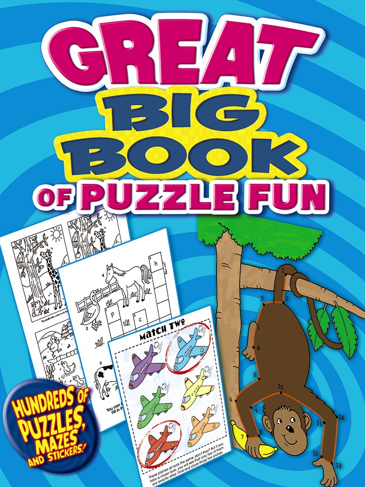 Great Big Book of Puzzle Fun