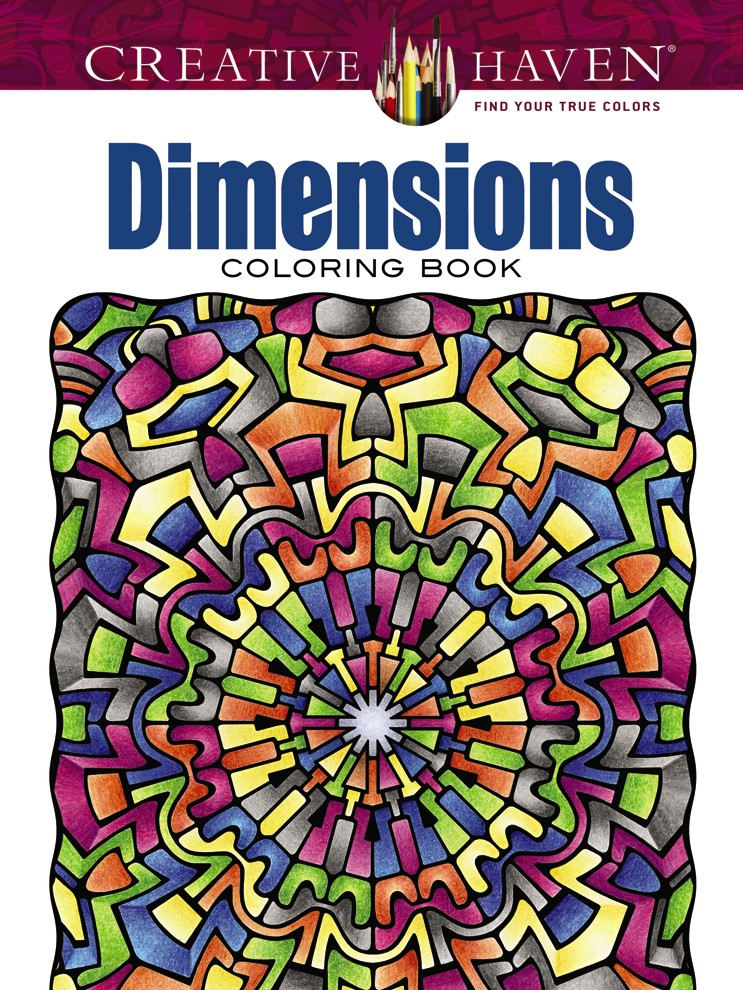 Creative Haven Dimensions Coloring Book