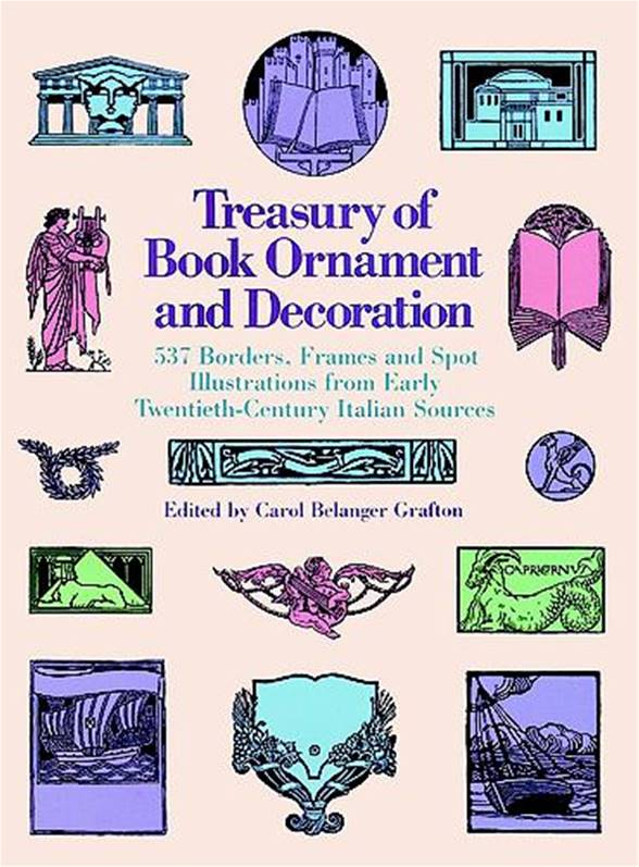 Treasury of Book Ornamentation and Decoration