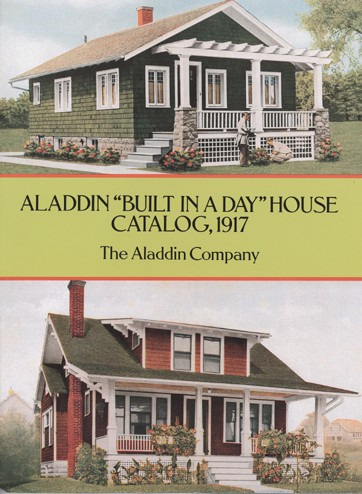 Aladdin Built in a Day House Catalog, 1917