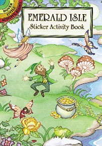 Emerald Isle Sticker Activity Book