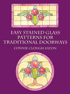 Easy Stained Glass Patterns for Traditional Doorways