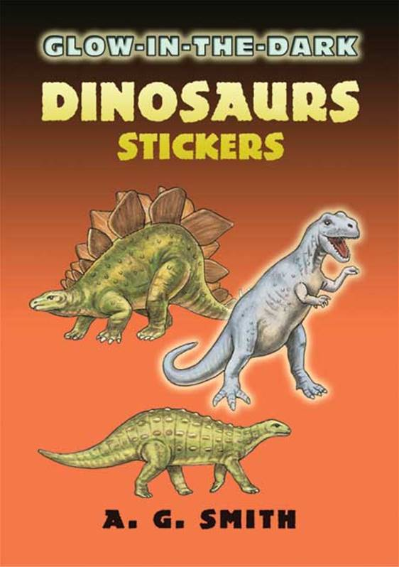 Glow In the Dark Dinosaurs Stickers