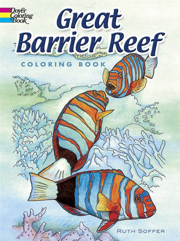 Great Barrier Reef Colouring Book