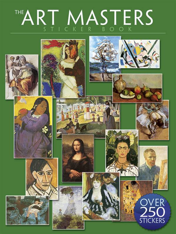 The Art Masters Sticker Book