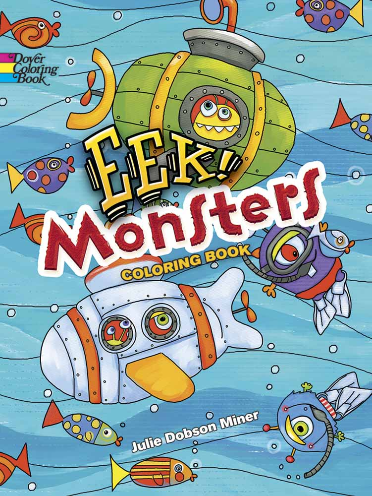 EEK! Monsters Coloring Book