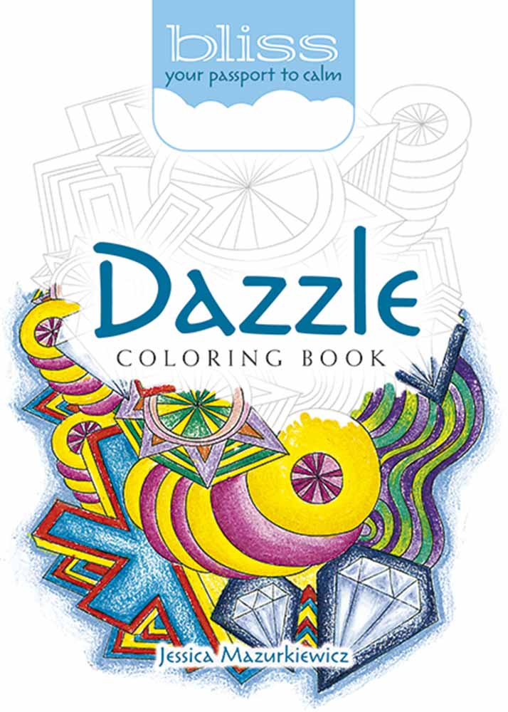 BLISS Dazzle Coloring Book
